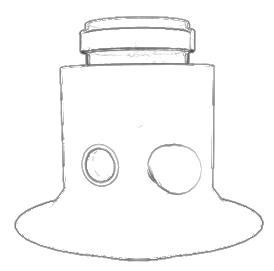 Bulex-A2034200-Verticale-uitgang