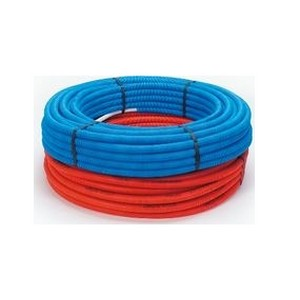 Beg Alupex buis 20x2 mm met mantel blauw (50 m) (800342050)