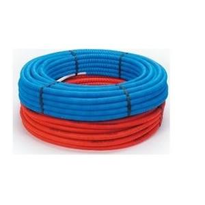 Beg. Alupex buis 16x2 mm met mantel blauw (100 m) (800172100)