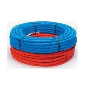 Beg. Alupex buis 16x2 mm met mantel blauw (50 m) (800172050)