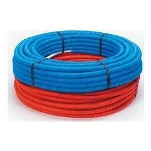 Begetube Alupex buis26x3 mm + isolatie blauw_m (806552025)