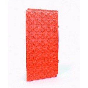 Begetube noppenplaat oranje (100x50x1,5 cm) _m2 (600000015)