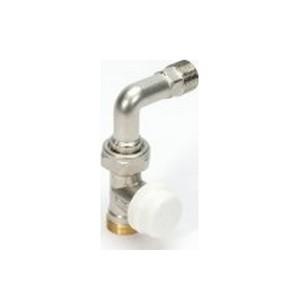 Begetube rechte kraan met bocht vr 3-wegset thermo (121040052)