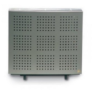 Wellstraler P36 inox look gasradiator