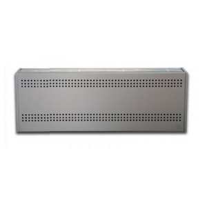Wellstraler P45 inox look gasradiator