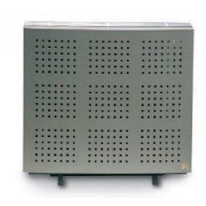 Wellstraler P64 inox look gasradiator
