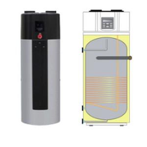 Detand warmtepompboiler