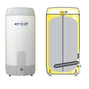 elektrisch boiler inox droge weerstand