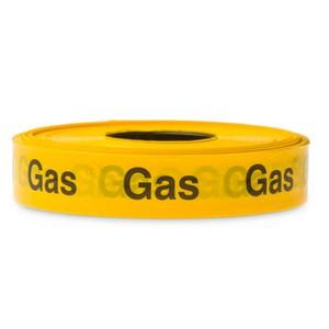 waarschuwingslint gasleiding