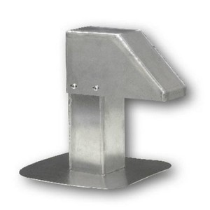 Aluminium dakdoorvoer 80x80 mm voor leidingen en kabels (LAC-794)